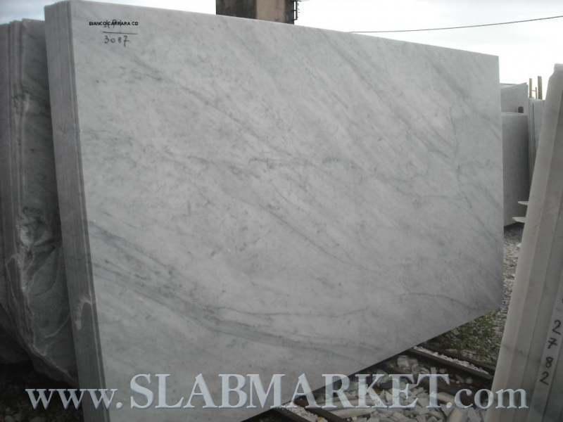 White Carrara Slab Slabmarket Buy Granite And Marble Slabs Direct
