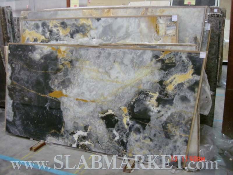 Black Onyx Slab : Black onyx slab slabmarket buy granite and marble slabs