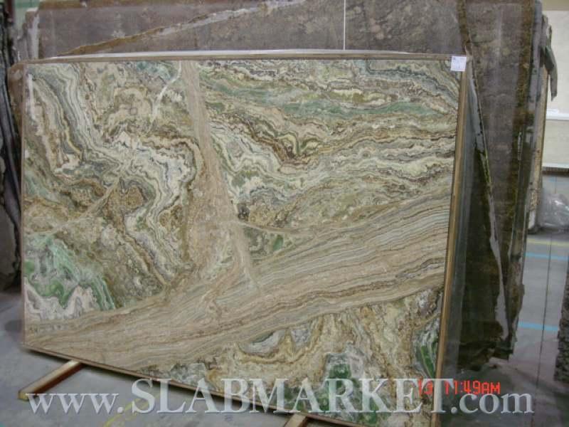 Onyx Stone Slabs : Smeralda onyx slab slabmarket buy granite and marble