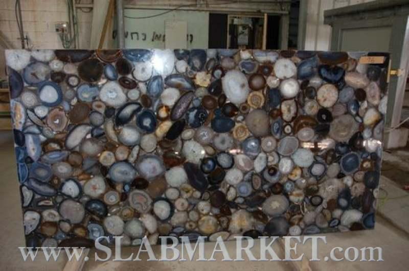Blue Agate Slab Slabmarket Buy Granite And Marble Slabs