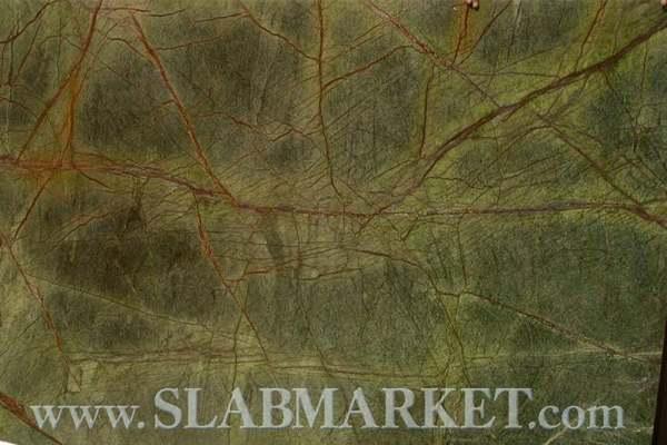 Serpentine Stone Slabs : Serpentine flower green marble slab slabmarket buy