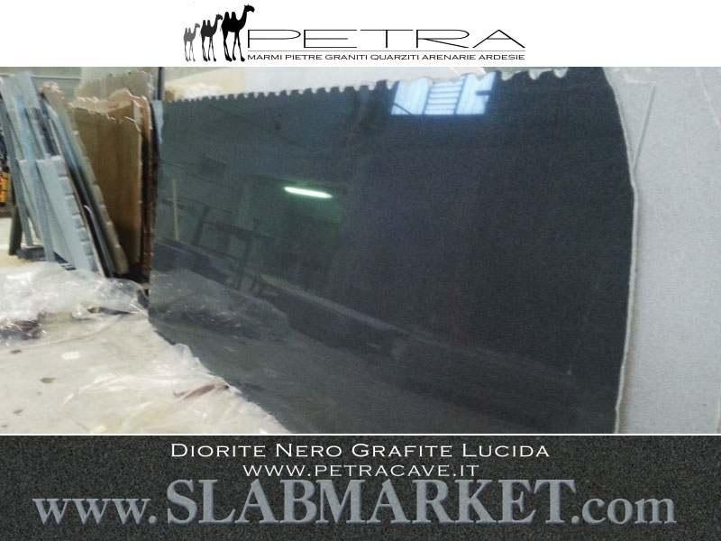 Diorite Stone Slabs : Diorite black graphite slab slabmarket buy granite and